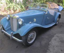 FOR SALE: 1952 MG TD IN STRATFORD, CONNECTICUT