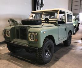 FOR SALE: 1968 LAND ROVER SERIES II 88 IN RICHMOND, ILLINOIS
