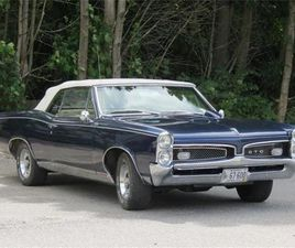 FOR SALE: 1967 PONTIAC GTO IN NORTH ANDOVER, MASSACHUSETTS