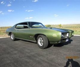 FOR SALE: 1969 PONTIAC GTO IN CADILLAC, MICHIGAN