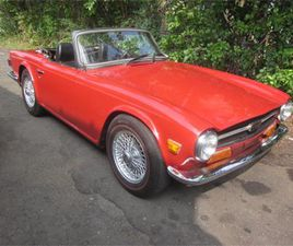 FOR SALE: 1971 TRIUMPH TR6 IN STRATFORD, CONNECTICUT