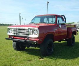 FOR SALE: 1977 DODGE POWER WAGON IN CELINA, OHIO