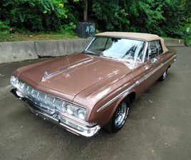 FOR SALE: 1964 PLYMOUTH FURY IN SHARPSBURG, PENNSYLVANIA