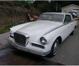 FOR SALE: 1963 STUDEBAKER GRAN TURISMO IN MILFORD, OHIO