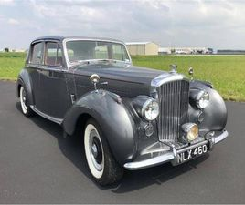 FOR SALE: 1953 BENTLEY R TYPE IN CADILLAC, MICHIGAN