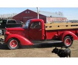 FOR SALE: 1938 DODGE 1 TON PICKUP IN RED DEER COUNTY, ALBERTA
