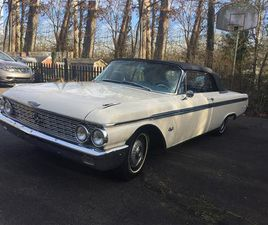 FOR SALE: 1962 FORD GALAXIE 500 XL IN KNOXVILLE, TENNESSEE