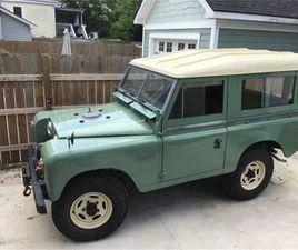 FOR SALE: 1973 LAND ROVER SERIES III IN CADILLAC, MICHIGAN