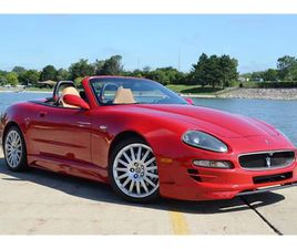 FOR SALE: 2002 MASERATI SPYDER IN BARRINGTON, ILLINOIS