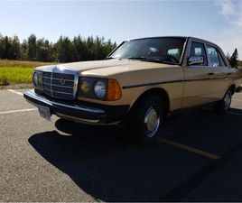 FOR SALE: 1983 MERCEDES-BENZ 240D IN CADILLAC, MICHIGAN