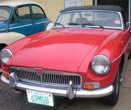 FOR SALE: 1969 MG MGB IN RYE, NEW HAMPSHIRE