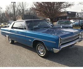 FOR SALE: 1968 PLYMOUTH FURY IN STRATFORD, NEW JERSEY