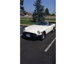 FOR SALE: 1978 MG MGB IN CADILLAC, MICHIGAN