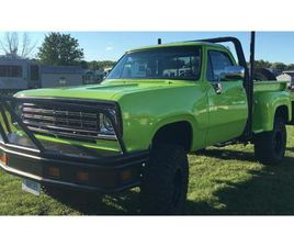 FOR SALE: 1978 DODGE POWER WAGON IN CADILLAC, MICHIGAN