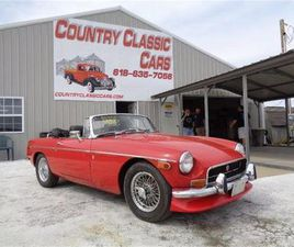 FOR SALE: 1972 MG MGB IN STAUNTON, ILLINOIS