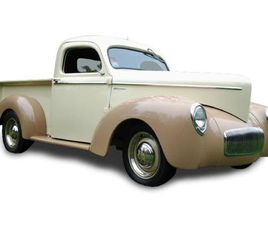 FOR SALE: 1942 WILLYS PICKUP IN LAKE HIAWATHA, NEW JERSEY