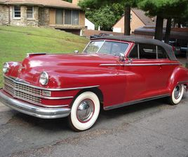 FOR SALE: 1948 CHRYSLER NEW YORKER IN ROSEVILLE, MINNESOTA