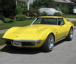 FOR SALE: 1970 CHEVROLET CORVETTE IN CLAYMONT, DELAWARE