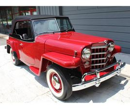 FOR SALE: 1950 WILLYS JEEPSTER IN ROSWELL, GEORGIA