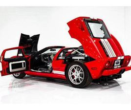 2006 FORD GT 3.7MI (6KM) ONE PREVIOUS OWNER -DELIVERY PLASTICS