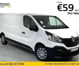 RENAULT TRAFIC BUSINESS LL29 120 FOR SALE IN DUBLIN FOR €20,950 ON DONEDEAL