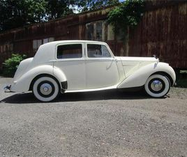 FOR SALE: 1952 BENTLEY MARK VI IN ESSEX, CONNECTICUT