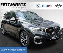 BMW X3 M40D SAG 20 LM DA+ HUD LED AHK STANDHZG