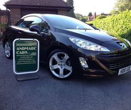 PEUGEOT 308 CC 2.0 HDI FAP GT CONVERTIBLE 2DR DIESEL AUTOMATIC (185 G/KM, 140 BHP) BROWN 2