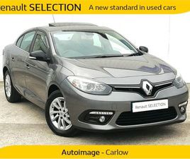 RENAULT FLUENCE 2 YEARS 20000KMS WARRANTY / LIMIT FOR SALE IN CARLOW FOR €11,250 ON DONEDE