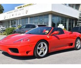 USED 2003 FERRARI 360 SPIDER - FALL SPECIAL