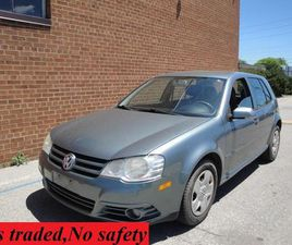 USED 2009 VOLKSWAGEN CITY GOLF MANUAL