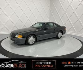 USED 1990 MERCEDES-BENZ 300SL 300SL| ONLY 1,732KM| HARD TOP