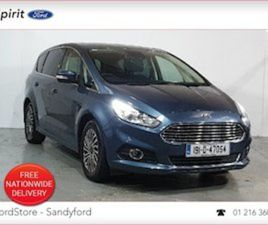 FORD S-MAX AUTOMATIC TITANIUM 190 BHP SAT NAV CAL FOR SALE IN DUBLIN FOR €33900 ON DONEDEA