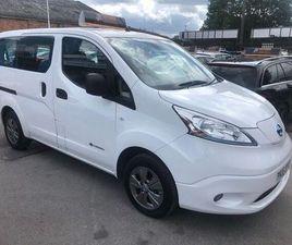 NISSAN E-NV200 ACENTA AUTO 5DR (7 SEAT, RAPID) WHITE 2016