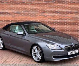BMW 6 SERIES 4.4 650I SE 2DR GREY 2011
