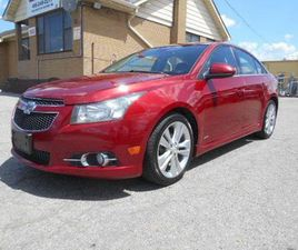USED 2013 CHEVROLET CRUZE LT TURBO RS LOADED LEATHER CERTIFIED 162,000KM