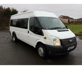2012 FORD TRANSIT 17 SEATER MINIBUS T430 RWD CONTACTLESS SALE BELFAST/COLERAINE