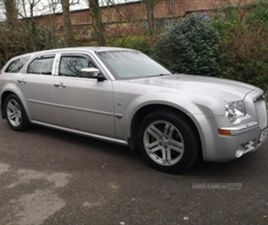 USED 2007 CHRYSLER 300C V6 AUTO ESTATE 57,900 MILES IN SILVER FOR SALE | CARSITE