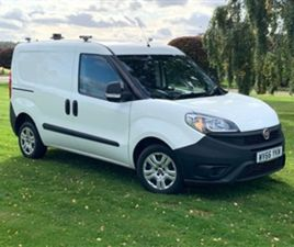 USED 2016 FIAT DOBLO 1.2L 16V MULTIJET 0D 90 BHP NOT SPECIFIED 52,000 MILES IN WHITE FOR S