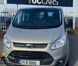 WHEELCHAIR ACCESSIBLE - FORD TOURNEO CUSTOM FOR SALE IN DUBLIN FOR €25,950 ON DONEDEAL
