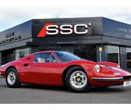 USED 1973 FERRARI DINO COUPE 52,000 MILES IN RED FOR SALE | CARSITE