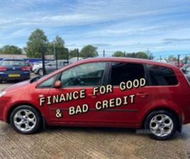 USED 2008 FORD C-MAX TD 109 MPV 139,237 MILES IN RED FOR SALE   CARSITE