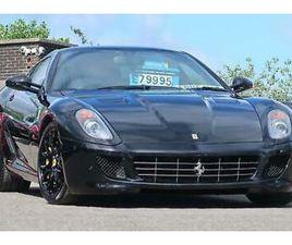 2009 FERRARI 599 6.0 F1 GTB FIORANO 2DR