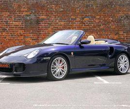 PORSCHE 911 996 TURBO CABRIOLET MANUAL - LOW MILEAGE - BIG SPECIFICATION