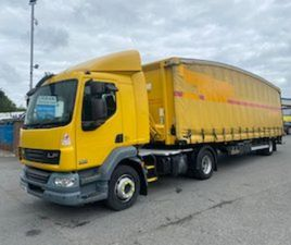 2013 DAF URBAN TRACTOR UNIT AND CURTAIN TRAILER FOR SALE IN ARMAGH FOR €1 ON DONEDEAL