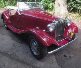 FOR SALE: 1953 MG TD IN STRATFORD, CONNECTICUT