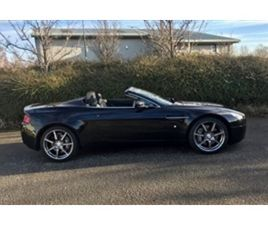 USED 2007 ASTON MARTIN VANTAGE ROADSTER CONVERTIBLE 62,000 MILES IN BLACK FOR SALE | CARSI