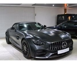 USED 2018 MERCEDES-BENZ AMG GTC 4.0 EDITION 50 CONVERTIBLE 30 MILES IN MATT GRAPHITE GREY