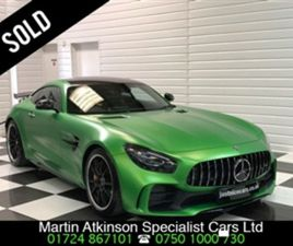 USED 2018 MERCEDES-BENZ GT GT R PREMIUM 2DR AUTO MASSIVE SPECIFICATION COUPE 729 MILES IN