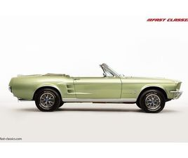 FORD MUSTANG CONVERTIBLE // 1967 FACTORY 4-SPEED MANUAL // HUGE HISTORY FILE